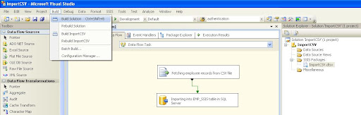 SSIS : Step by step process of creating a deployment